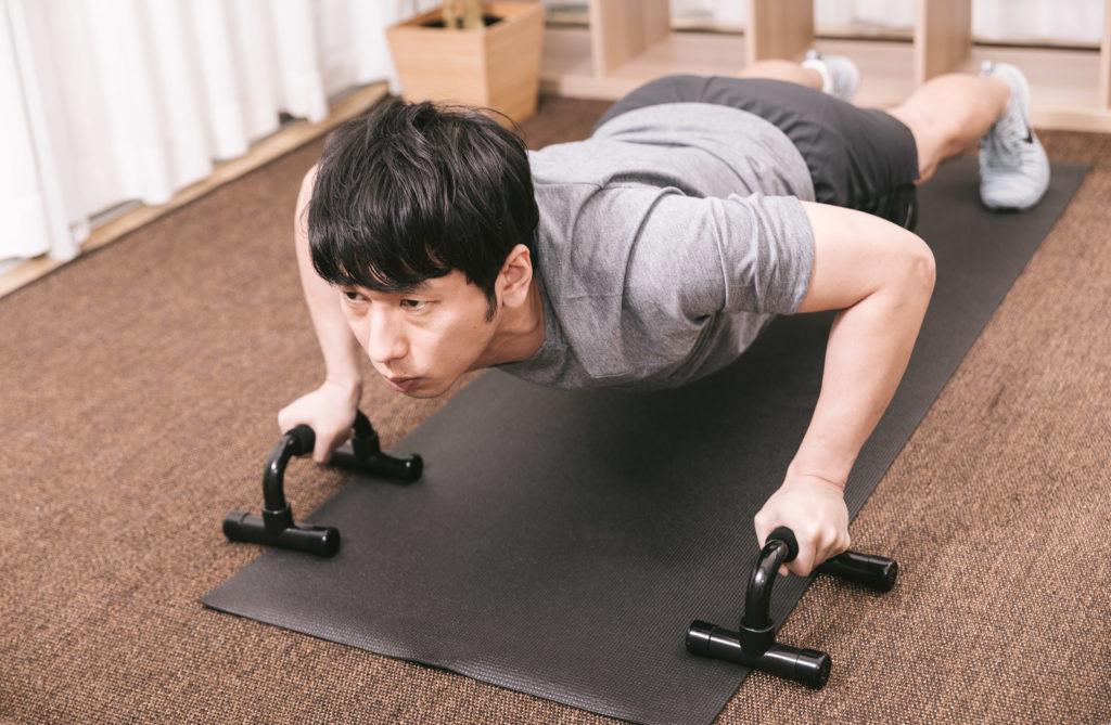 push-up man